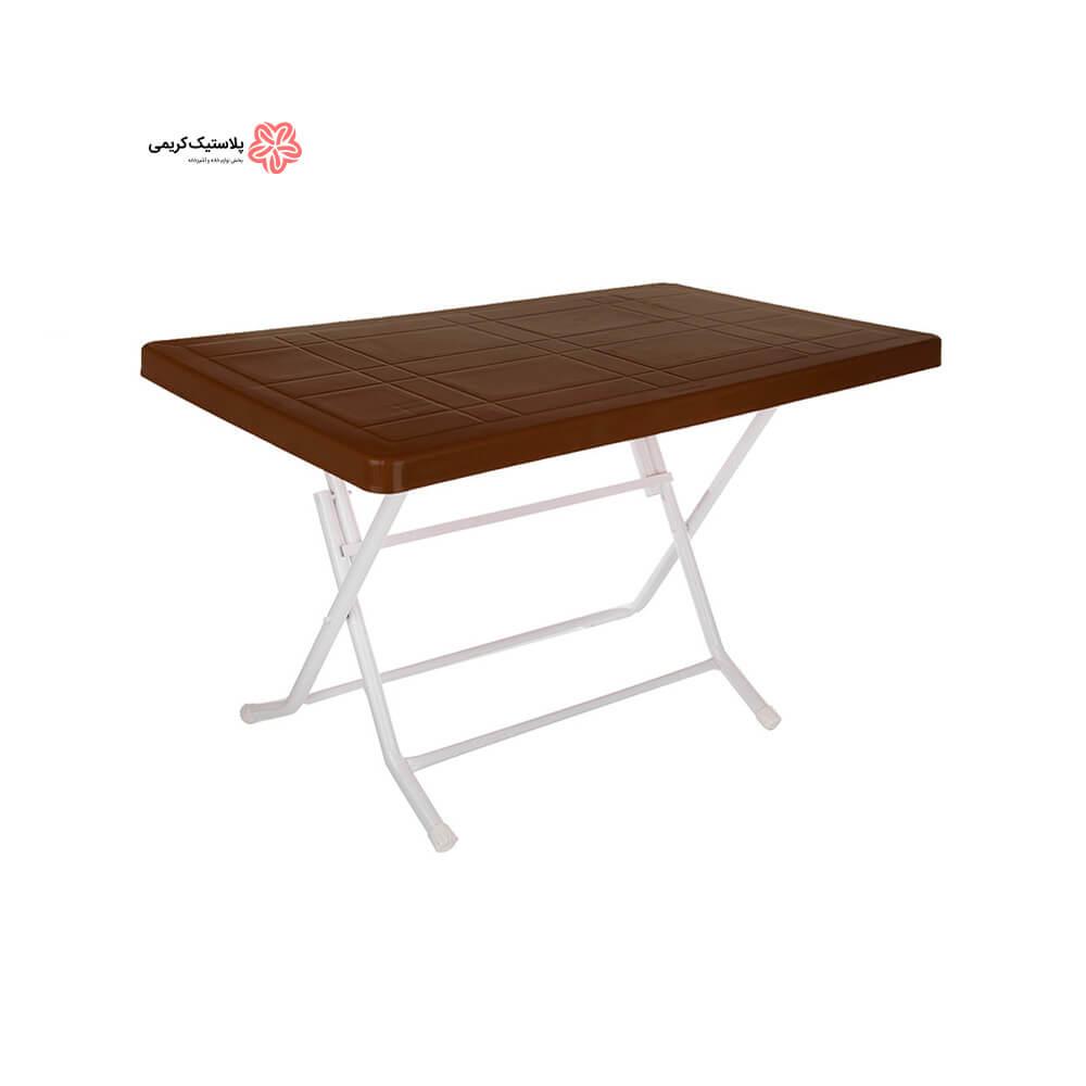 میز ۶نفره پایه فلزی