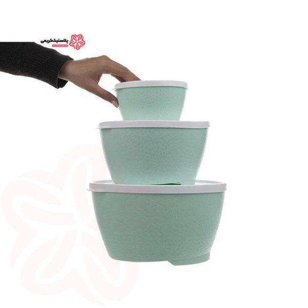 ظرف نگهدارنده هوم کت مدل Violet بسته 3 عددی